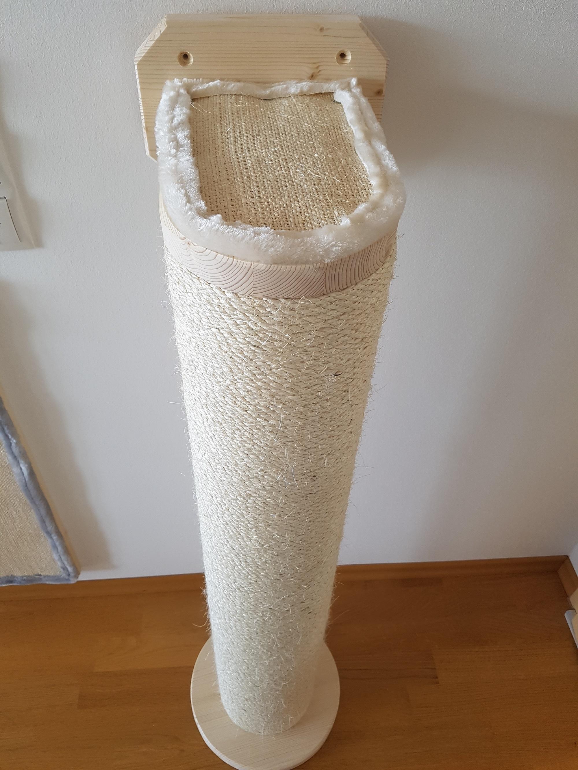 dicker stamm f r katzen sisalstamm sisalseil kratzbaum stamm. Black Bedroom Furniture Sets. Home Design Ideas