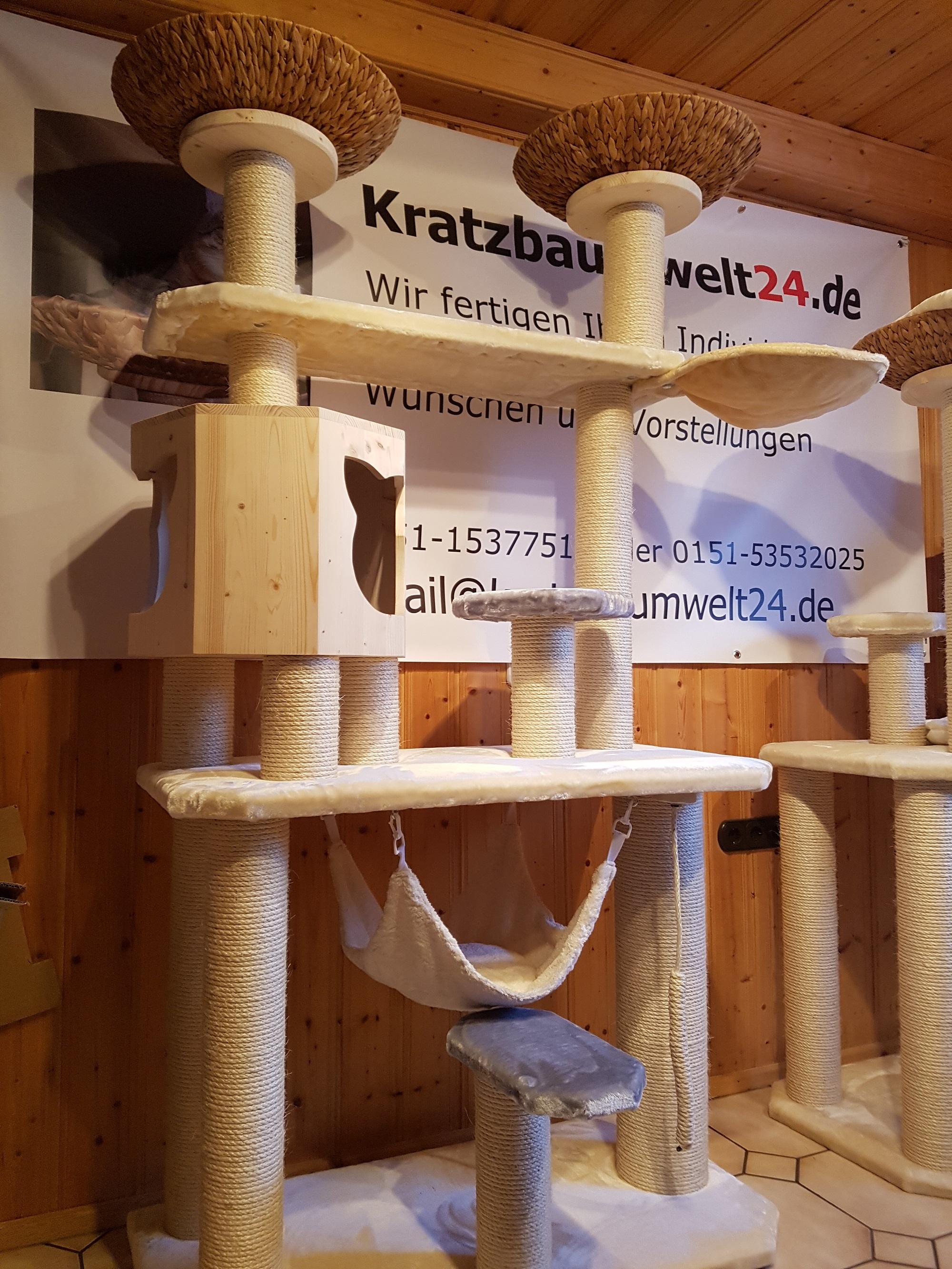 katzenbaum f r katzen naturkratzbaum handarbeit h ngematte f r katzen stabiler kratzbaum. Black Bedroom Furniture Sets. Home Design Ideas