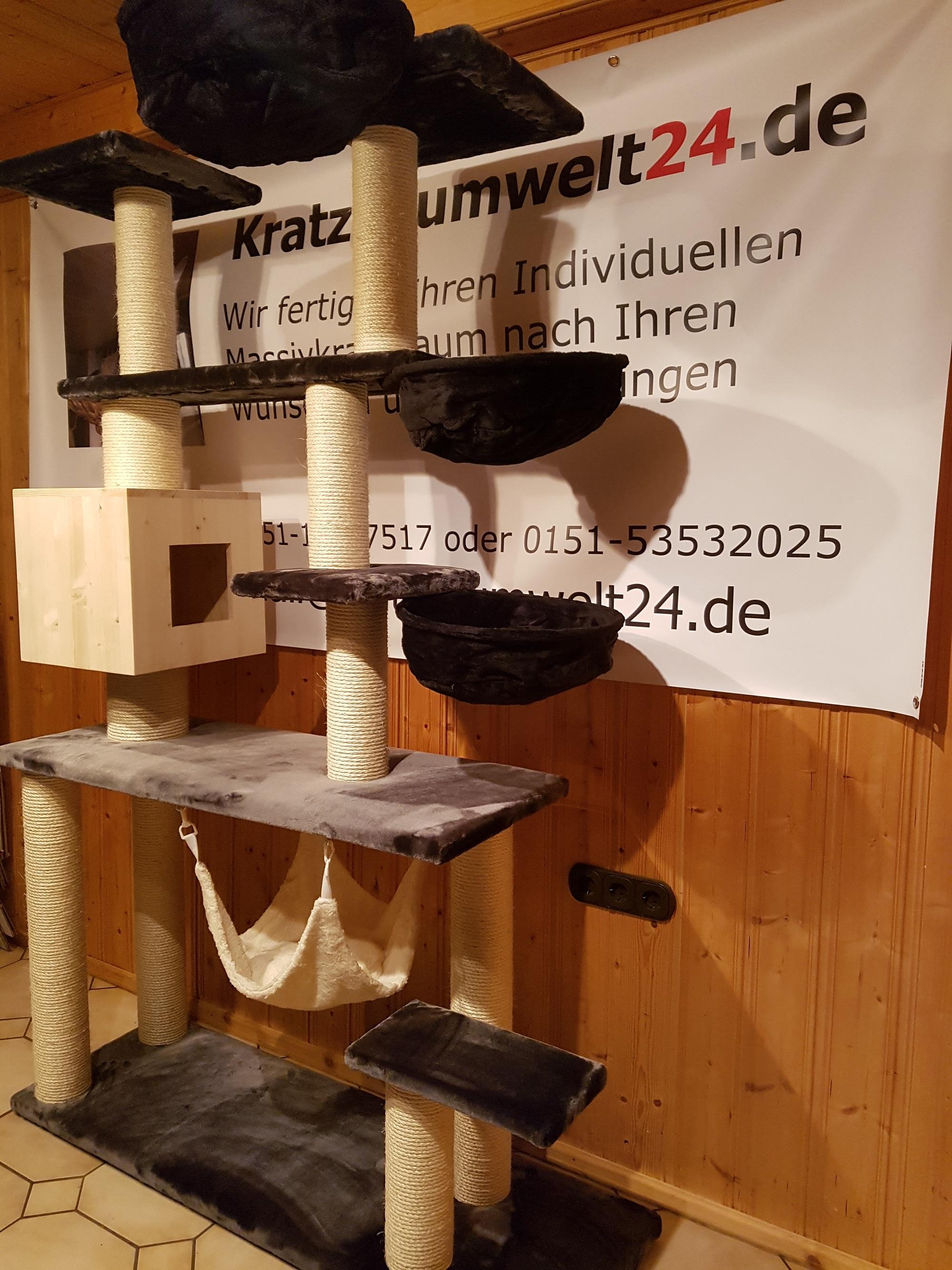 kratzb ume f r katzen massiv stabil fummelbrett liegemulde. Black Bedroom Furniture Sets. Home Design Ideas