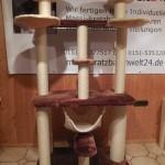 Kratzbaum Katzen groß stabil