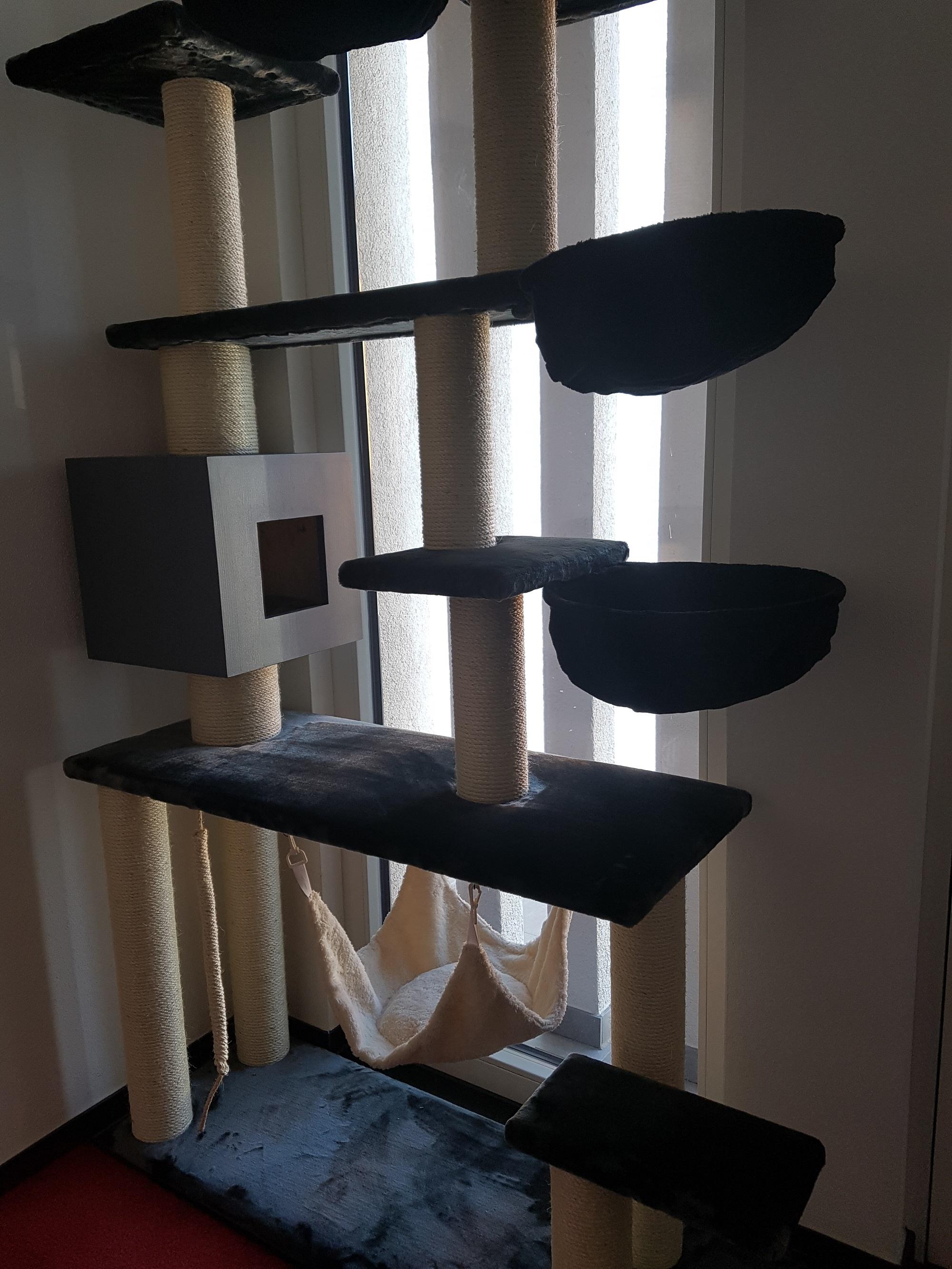 kratzbaum g nstig f r katzen stabiler kratzbaum massiv. Black Bedroom Furniture Sets. Home Design Ideas