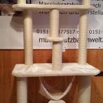 Kratzbaum stabil Kuschelmulde Körbe Katzen Rassekatzen