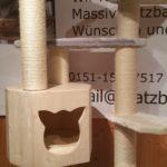 Kratzbaum zum selberbauen stabiler Kratzbaum Fummelbrett für Katzen