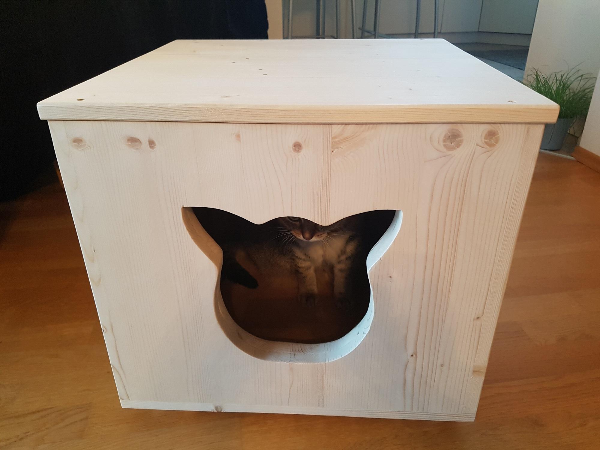 outdoor haus f r katzen h hle f r katzen katzenbett. Black Bedroom Furniture Sets. Home Design Ideas