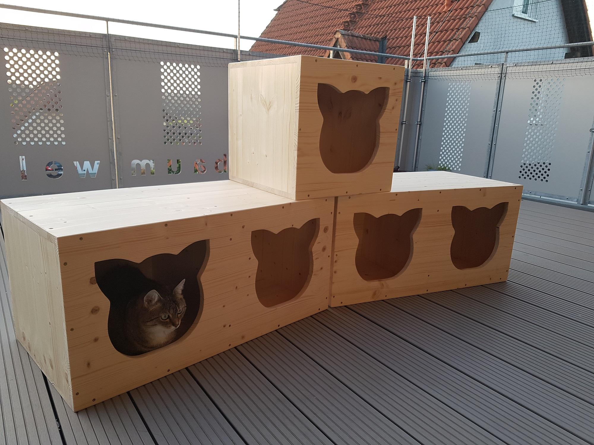 schlafplatz f r die katze h hle f r die katze katzenbett. Black Bedroom Furniture Sets. Home Design Ideas