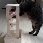 Spielzeug Katze Intelligenzspiel Turm