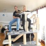 Deutscher Hersteller Team Kratzbaumwelt24.de, Stabilitätstest Kratzbaum