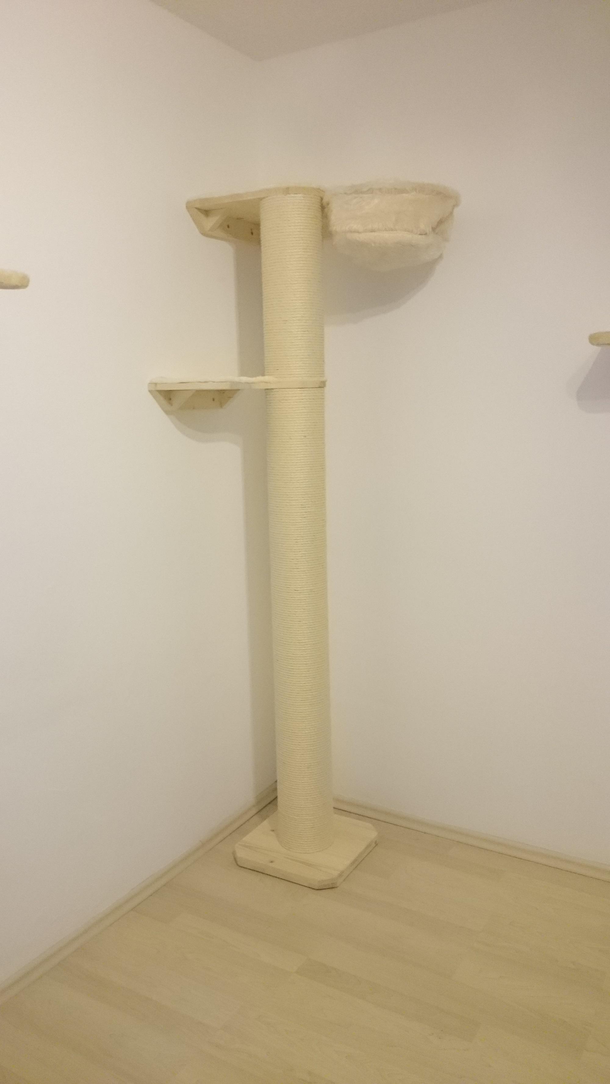 xxl stamm fuer katzen kratzstamm stabil saeule fuer katzen massiv. Black Bedroom Furniture Sets. Home Design Ideas