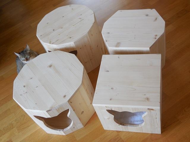 Holzhöhle in verschiedenen Varianten erhältlich