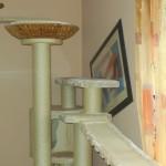 XXL Säulen Sisalseil Liegemulde Edelplüsch stabil große Katzen