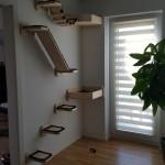 Wandkratzbaum Wandhalterung für Katzen Katzenlandschaft