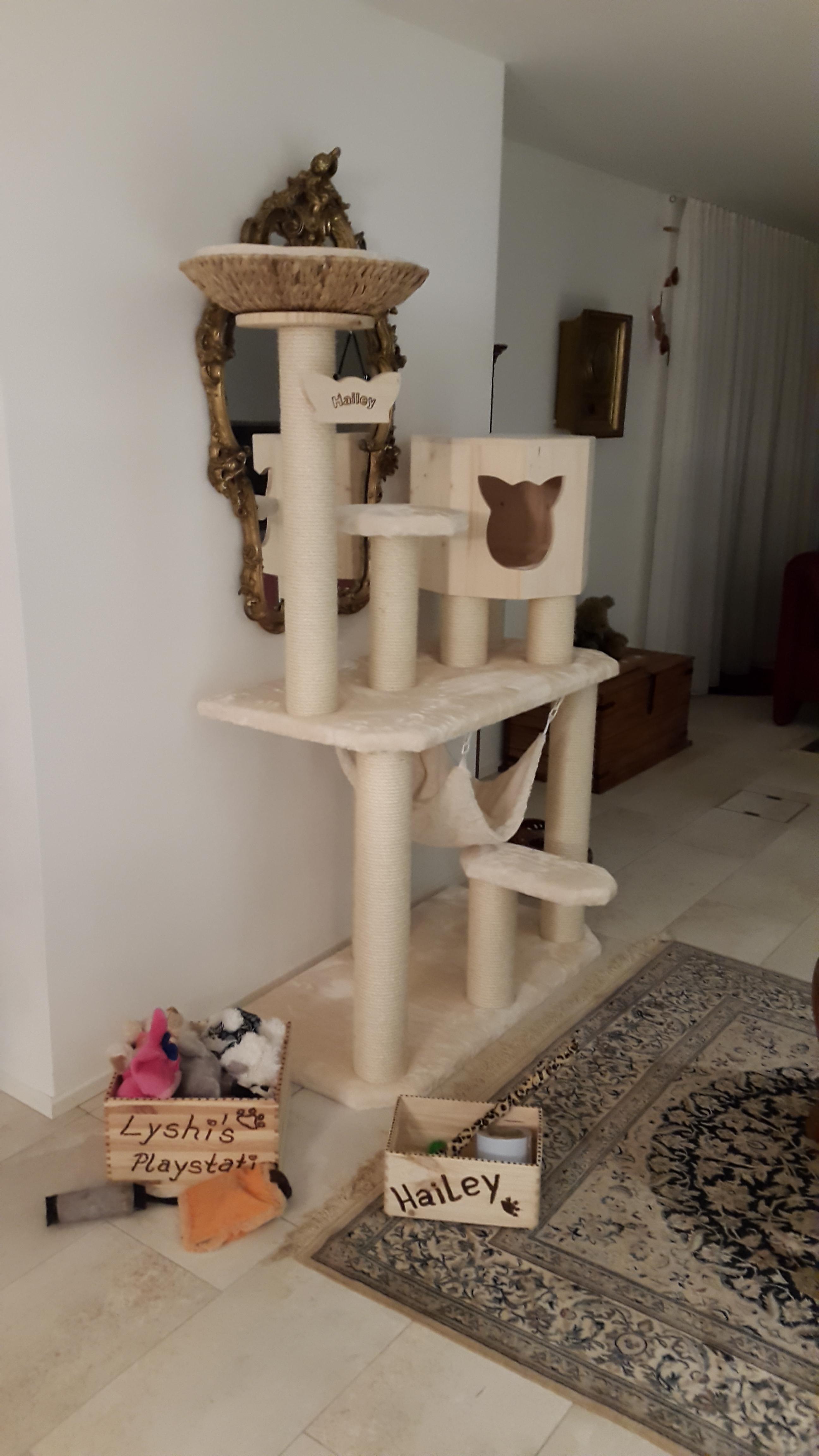 kratzbaum stabil. Black Bedroom Furniture Sets. Home Design Ideas