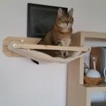Wandhalterung Edelplüsch Kratzbaum Katze