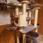 Grosser Kratzbaum für schwere Katzen
