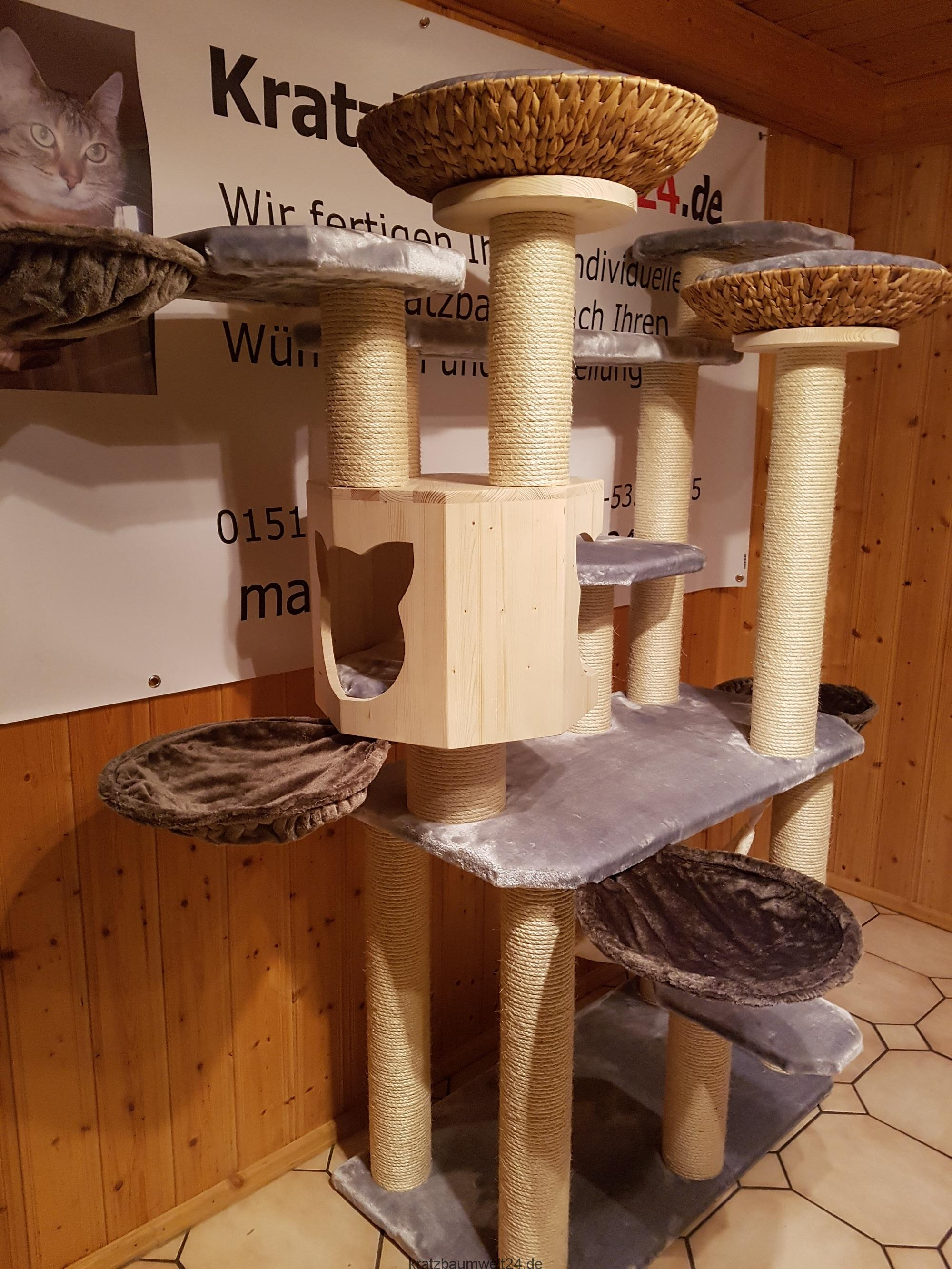 individueller kratzbaum deckenspanner wandkratzbaum. Black Bedroom Furniture Sets. Home Design Ideas