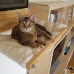 Hängematte für Holzhalterung