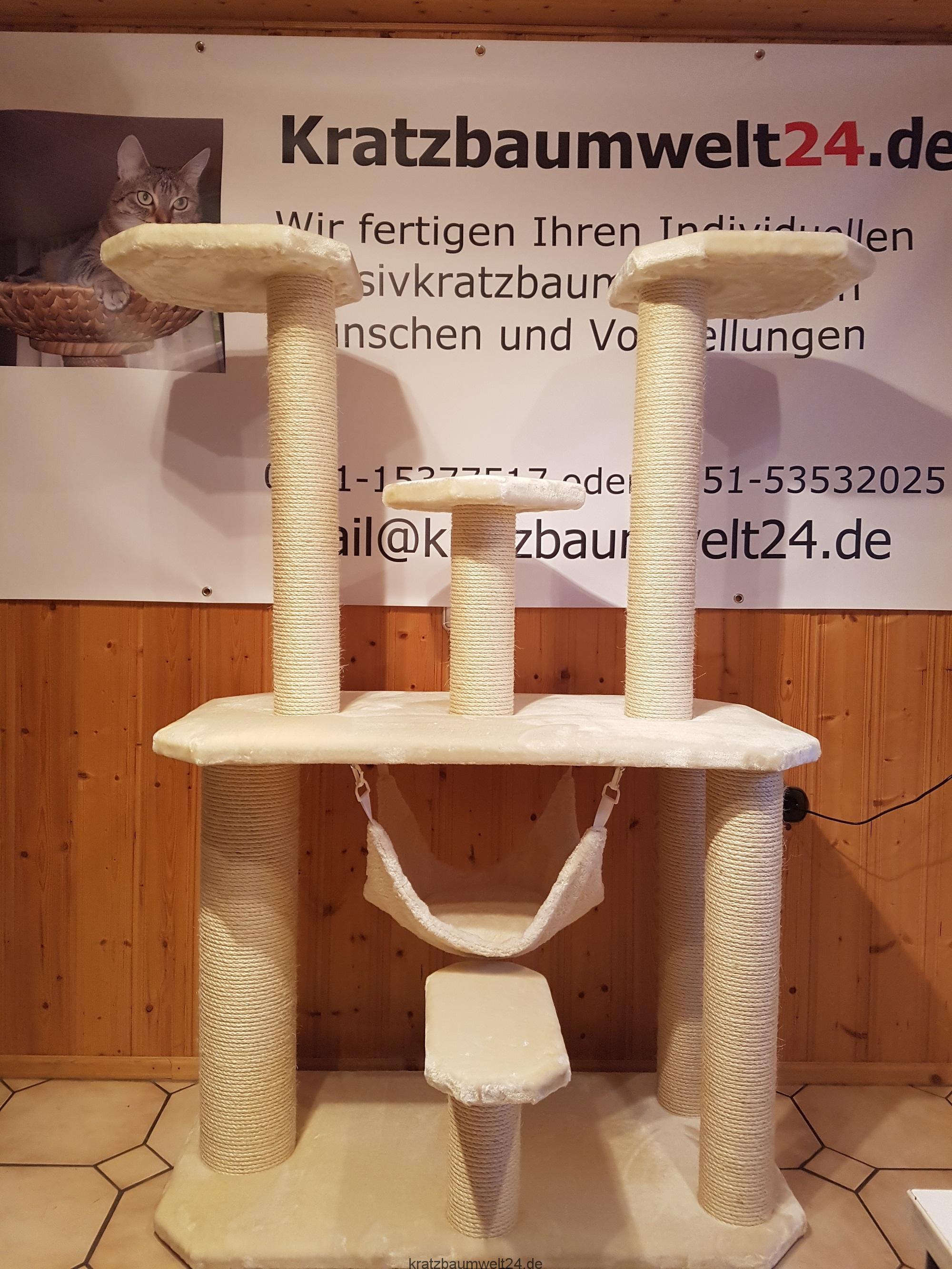 kratzbaum sonderanfertigung stabiler kratzbaum liegematten f r katzen kratzbaum mit grossen. Black Bedroom Furniture Sets. Home Design Ideas