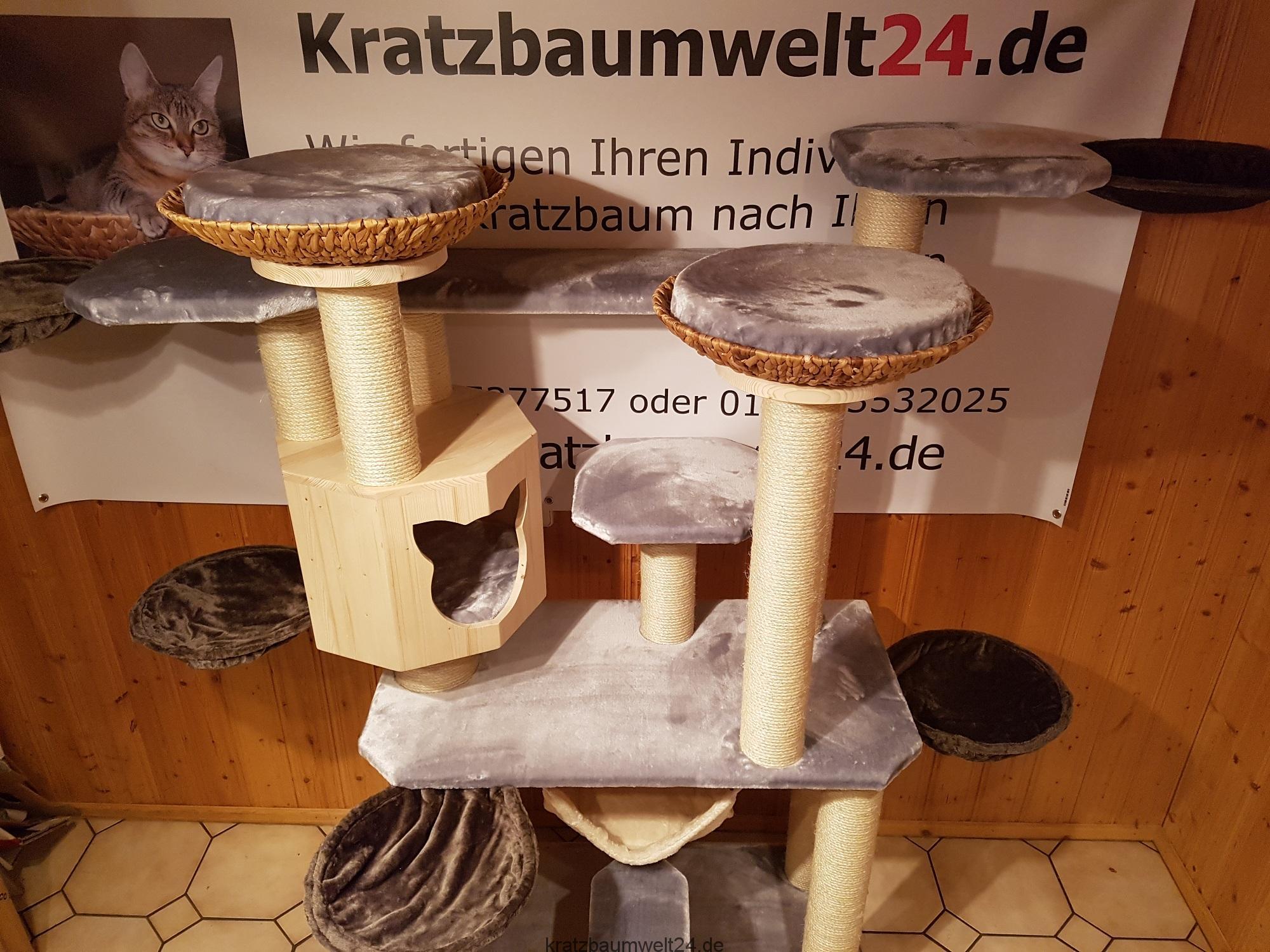 Kratzbaum Für Schwere Und Große Katzen Naturkratzbaum