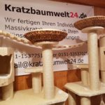 Kratzbaum mit Liegeschalen