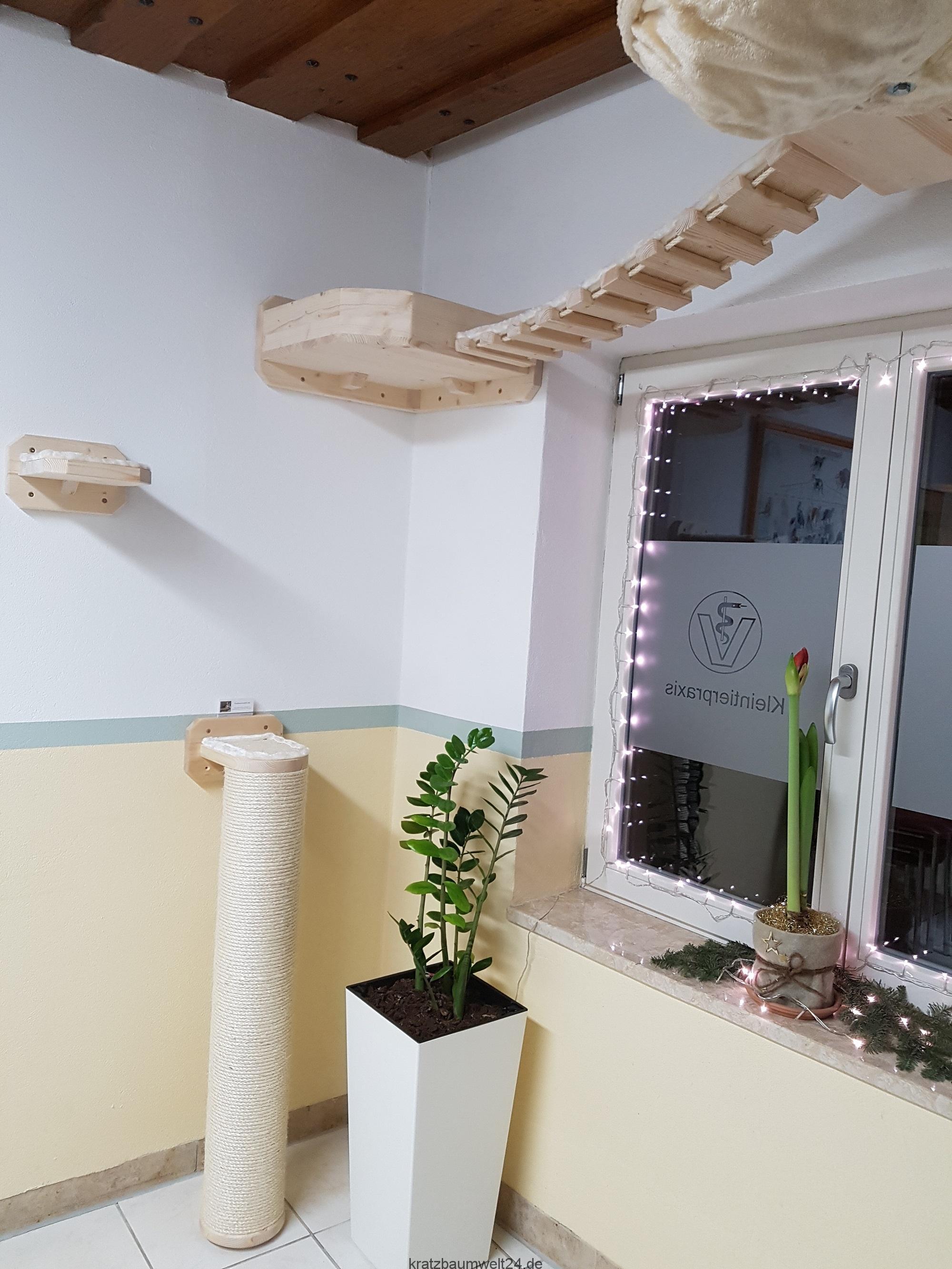 wandkratzbaum dicker stamm f r katzen sisals ule f r. Black Bedroom Furniture Sets. Home Design Ideas