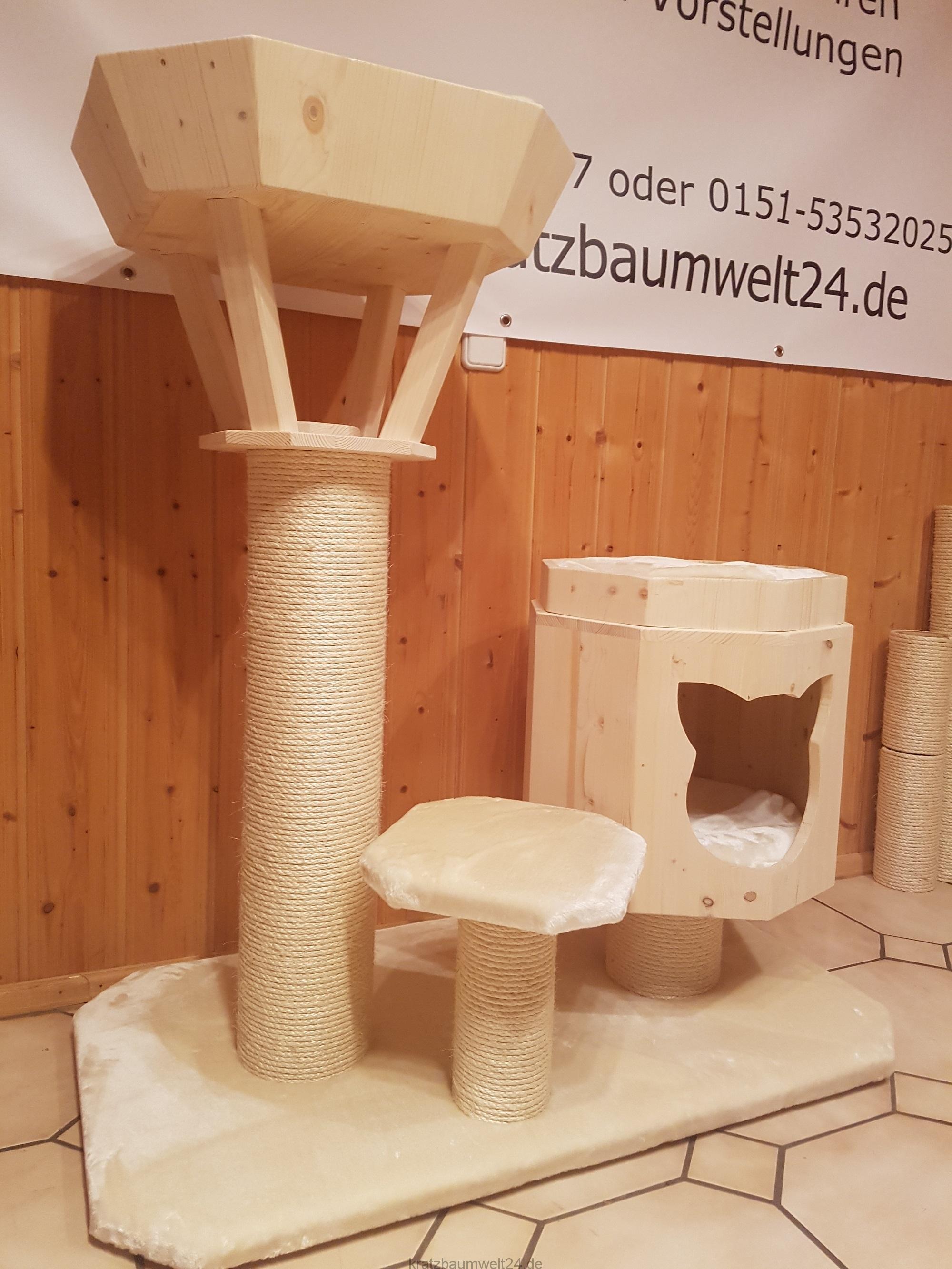 kratzbaum thron kratzbaum mittel h hle mit kissen f r katzen. Black Bedroom Furniture Sets. Home Design Ideas