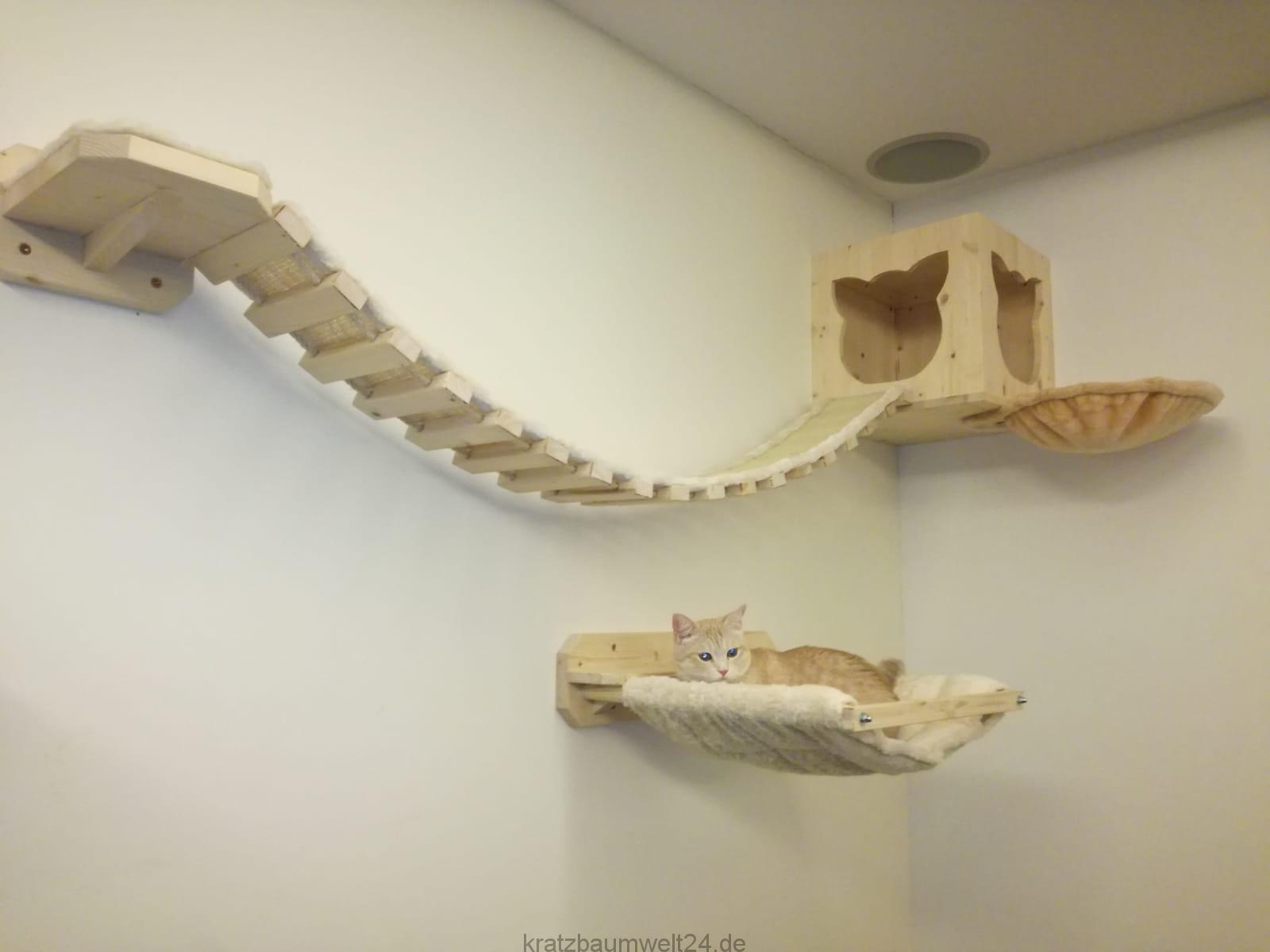 Wandsysteme F 252 R Katzen Kletterparcours F 252 R Katzen