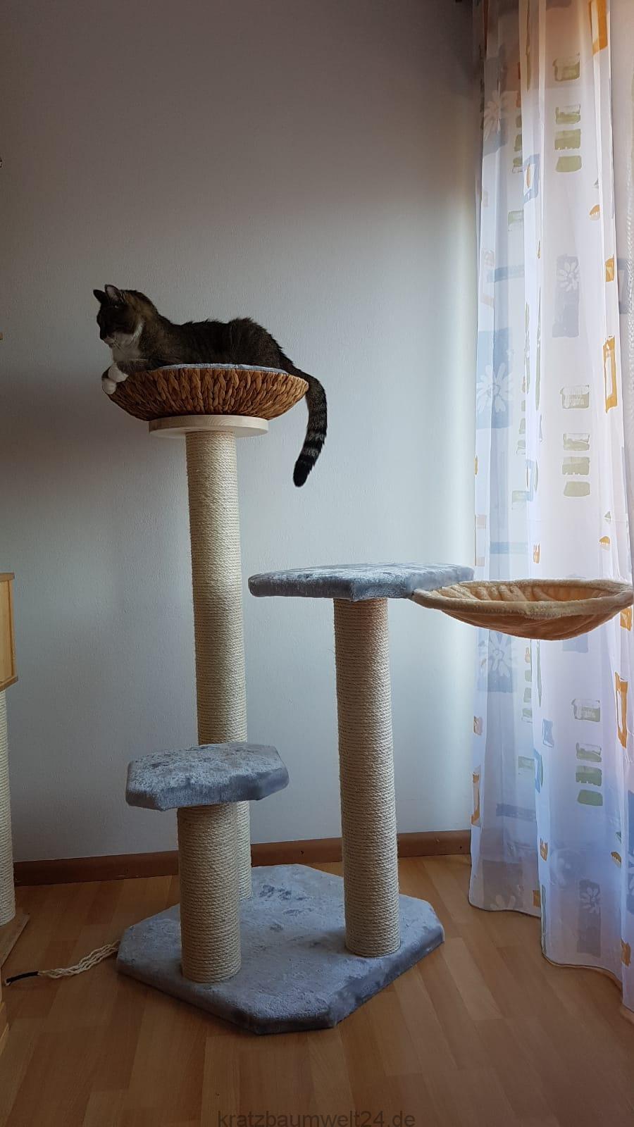 kratzbaum gross liegemulde f r katzen massivkratzbaum. Black Bedroom Furniture Sets. Home Design Ideas