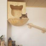Kletterwandsystem für Katzen